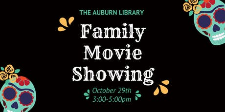 Family Movie Showing at the Auburn Library! tickets