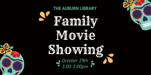 Family Movie Showing at the Auburn Library!