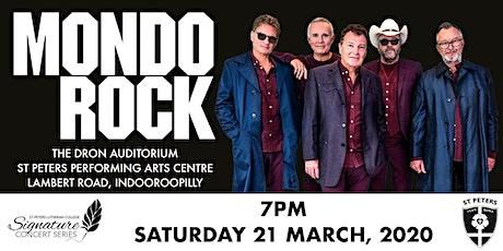 Mondo Rock Signature Series Concert tickets
