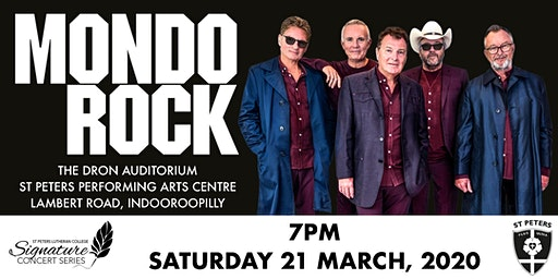Mondo Rock Signature Series Concert