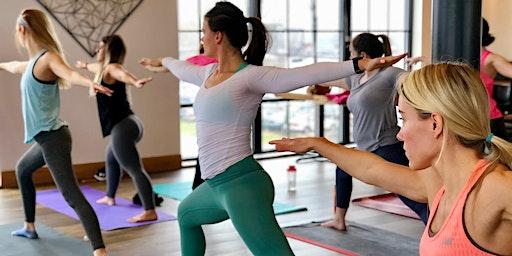 Brunch & Yoga Class - [Bottoms Up! Yoga & Brew]