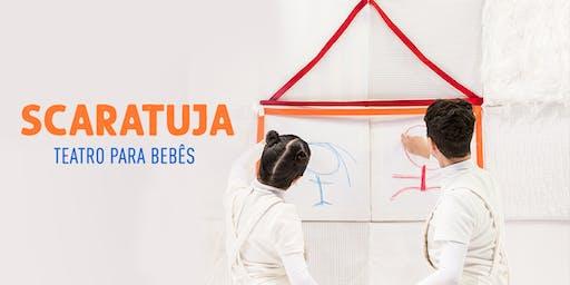 Desconto: Scaratuja, Teatro para Bebês, no Teatro Dr Botica