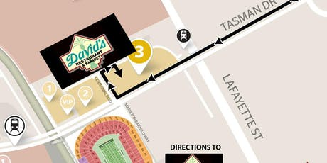 DAVID'S GAMEDAY (Includes Parking) 49ers VS Seahawks -NOV 11- YELLOW LOT tickets