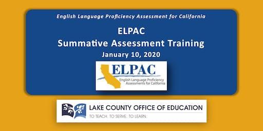 ELPAC Summative