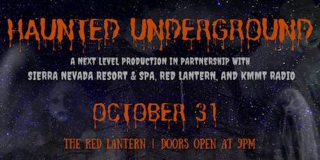 Haunted Underground tickets