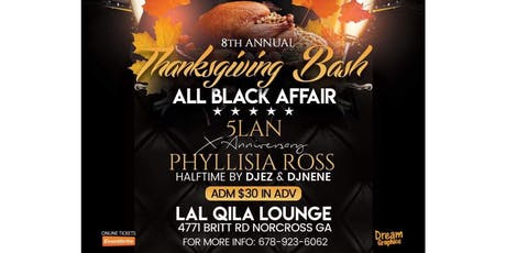 Thanksgiving Bash With 5Lan & Phyllisia Ross tickets
