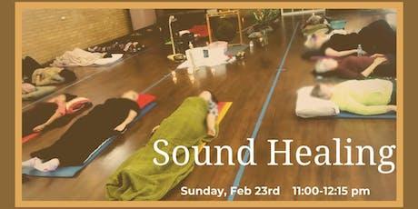 Sound Meditation Williamstown (Feb 2020) tickets