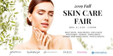 Fall Skin Care Fair tickets