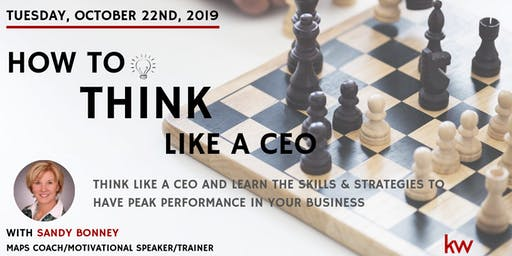 Think Like A CEO - Creating Peak Performance In Your Business