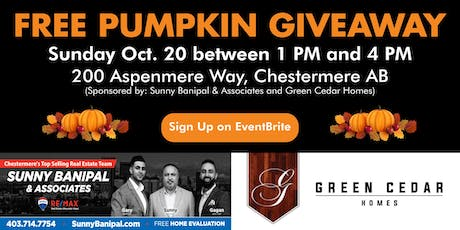 FREE Pumpkin Giveaway tickets