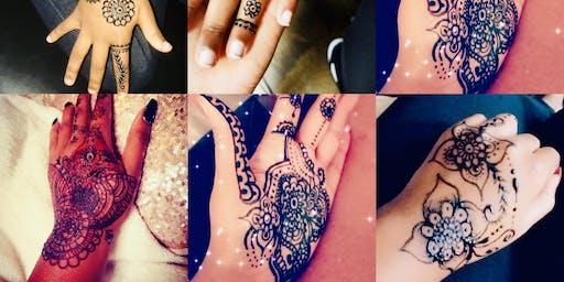 Henna and waist beads!
