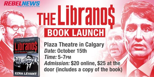 The Libranos by Ezra Levant Book Signing - Calgary