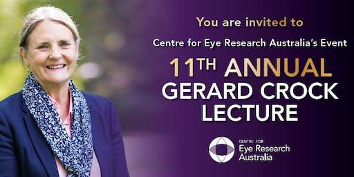2019 Gerard Crock Lecture
