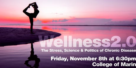 TEDxSALON / WELLNESS 2.0 -Science and Politics of Chronic Disease/18 & over tickets