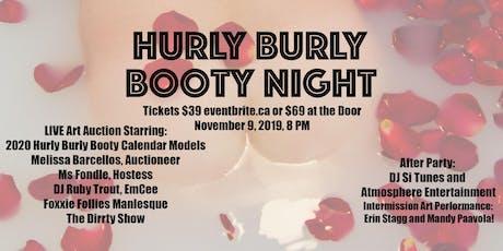 Hurly Burly Booty Night tickets