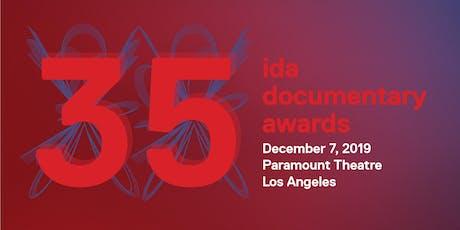 IDA Documentary Awards 2019 tickets