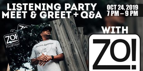 Zo! FourFront Listening/Meet & Greet Event tickets