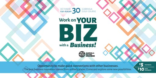 Work on Your Biz with a Business - Networking Event