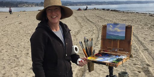 One day plein air workshop with award winning gallery artist Ellen Howard