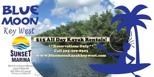 All Day Kayak Rental Special