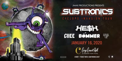 "Subtronics ""Cyclops Invasion Tour"" at Cargo Concert Hall"