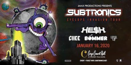 "Subtronics ""Cyclops Invasion Tour"" at Cargo Concert Hall tickets"