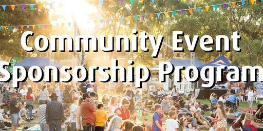 'Community Event Sponsorship Program' Information Session