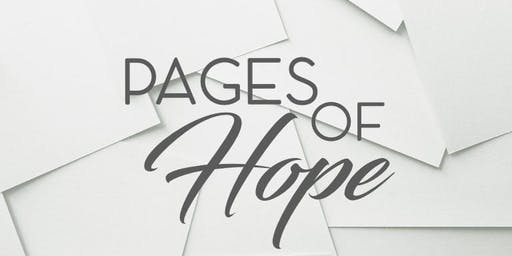 Pages of Hope Book Release Celebration