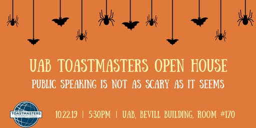 UAB Toastmasters Open House