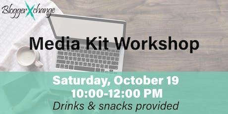 Media Kit Workshop tickets
