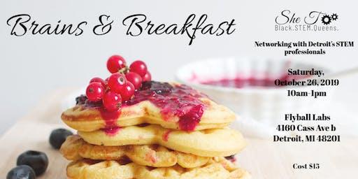 SheTooSTEM: Brains & Breakfast