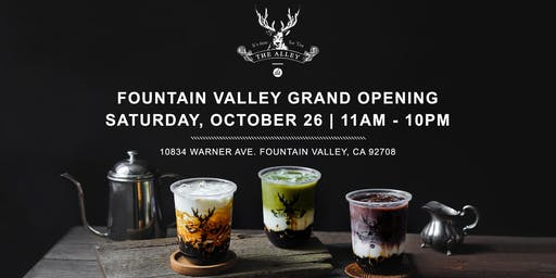 The Alley Fountain Valley Grand Opening!