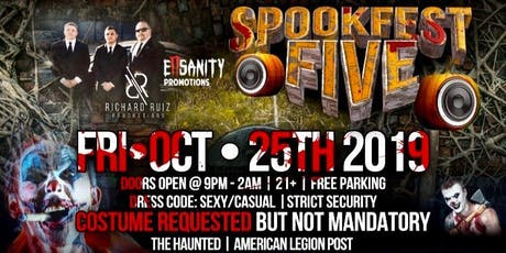 SPOOKFEST V: THE FINAL CHAPTER tickets