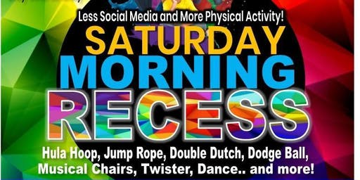 Saturday Morning Recess and Fitness (Youth) - Indoors