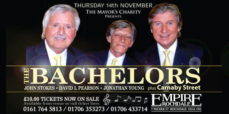 The Mayor's Charity presents - The Bachelors & Carnaby Street tickets