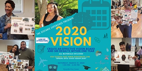 Spring into your Vision 2020 tickets