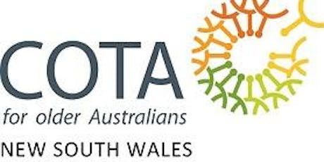 COTA NSW 63RD ANNUAL GENERAL MEETING tickets