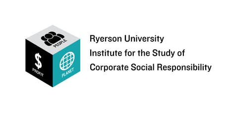 Ryerson CSR Institute: Sustainability Reporting-Evolving Landscape-Oct 25, 3:30pm - 5:30pm tickets