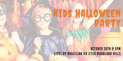 SAFE & FREE Kids Halloween Party - Level Up Jiu Jitsu Woodland Hills