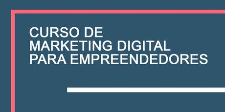 Curso de Marketing Digital para Empreendedores ingressos