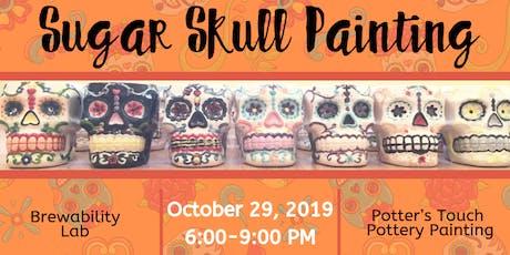 Sugar Skull Painting at Brewability Lab (10/29) tickets
