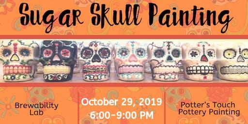 Sugar Skull Painting at Brewability Lab (10/29)