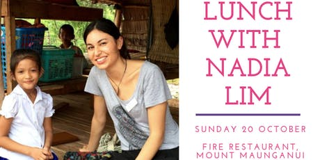 Lunch with Nadia Lim tickets