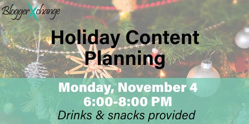 Holiday Content Planning