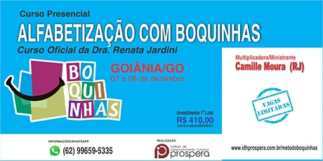 MÉTODO DAS BOQUINHAS - ALFABETIZAÇÃO COM BOQUINHAS ingressos