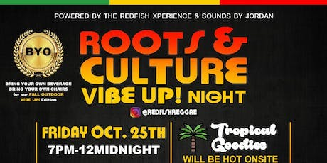 Roots and Culture Vibe Up! Night tickets