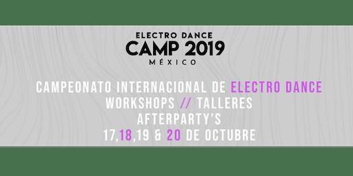 Electro Dance Camp México 2019