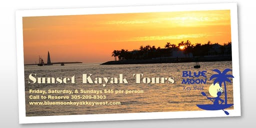 Sunset Kayak Tour SPECIAL ($10 off regular pricing)