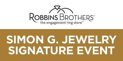 Simon G. Jewelry Signature Event - Robbins Brothers Dallas