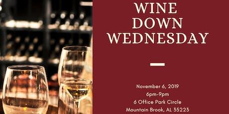 Wine Down Wednesday & Networking tickets